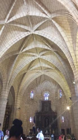 Cathedral in Santo Domingo.Cathedral de Santo Domingo.